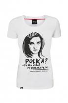 """""""Dziewczyny z Syberii"""" - koszulka patriotyczna, rozmiar XS"""