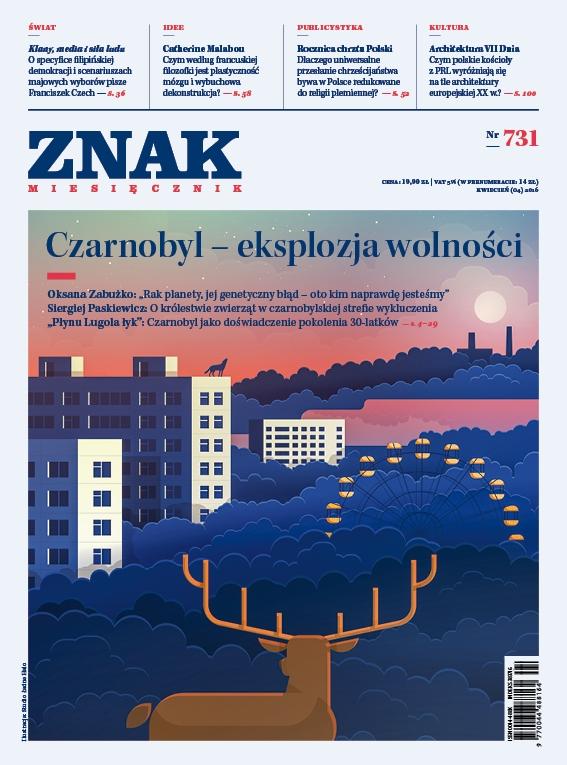 Miesięcznik ZNAK nr 731 kwiecień 2016